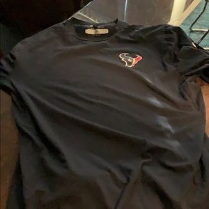 Team authenticated Texans long sleeve